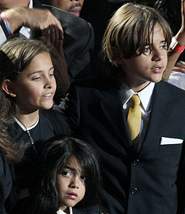 michael jackson's kids go to las vegas