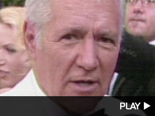 Alex Trebek at the Emmys