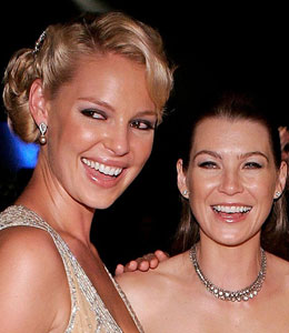 Katherine Heigl and Ellen Pompeo temporarily leave Grey's Anatomy