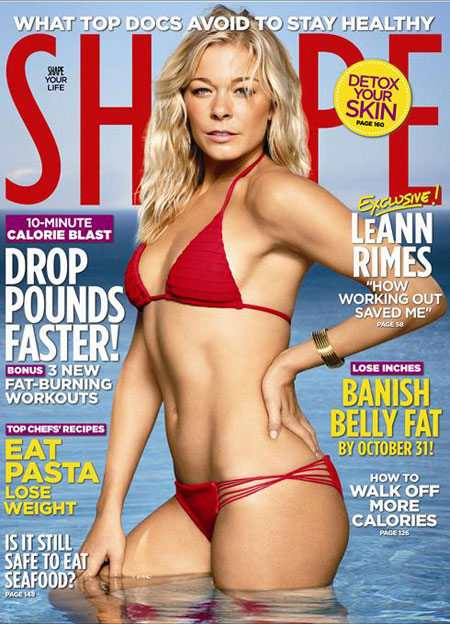 leann rimes shape