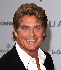 david hasselhoff ear infection
