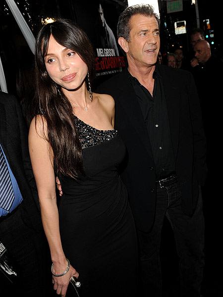oksana and mel gibson
