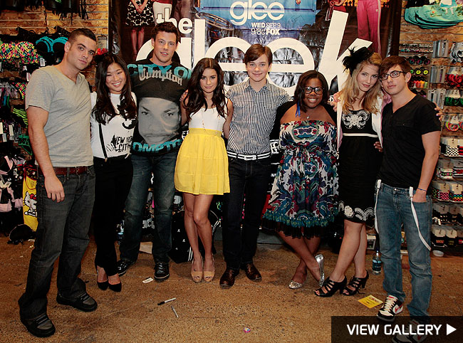 glee cast fox muscial