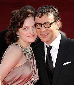 elizabeth moss fred armisen wedding