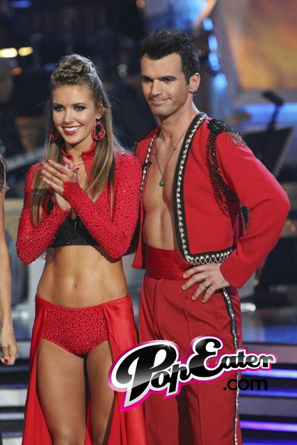 tony dovolani and audrina patridge