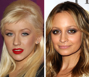 Christina Aguilera and Nicole Richie will both host parties in Las Vegas for New Year's