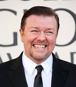 Ricky Gervais Will Pick on 'Younger, Thinner' Stars at ...