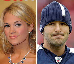 carrie underwood tony romo