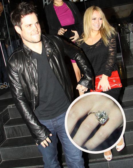 Pic! Hilary Duff\'s Engagement Bling! | ExtraTV.hilary duff engagement