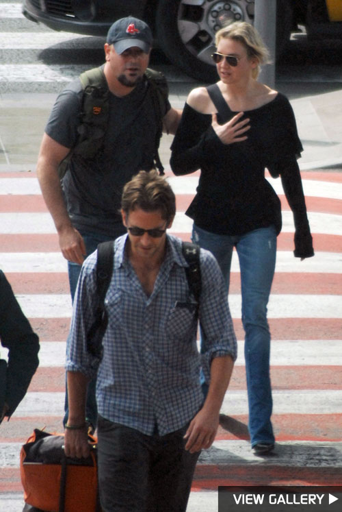 First there was a dinner date, then working out as a twosome, now Renée Zellweger and Bradley Cooper are going abroad!