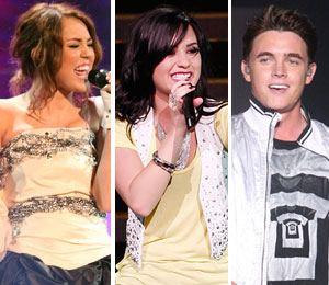 Miley Cyrus, Demi Lovato and Jesse McCartney perform for charity this weekend
